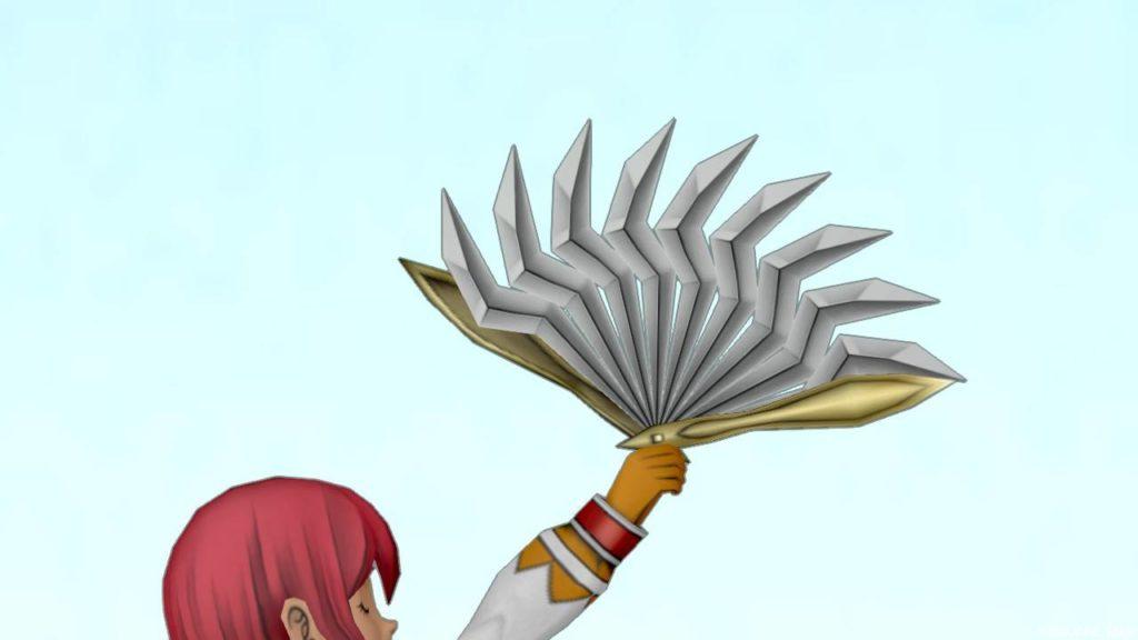 【装備】武器 > 扇「バトルファン」