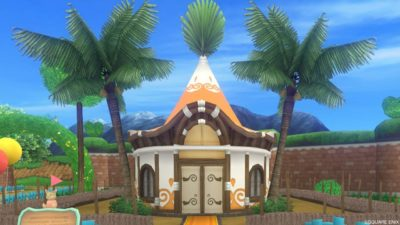 ウェディ風の家