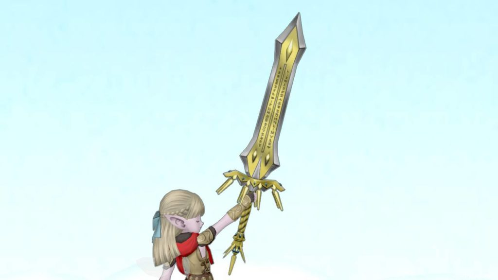 【装備】武器 > 両手剣「キングブレード」