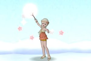 【ドラクエ10】しぐさ「桜マジック」