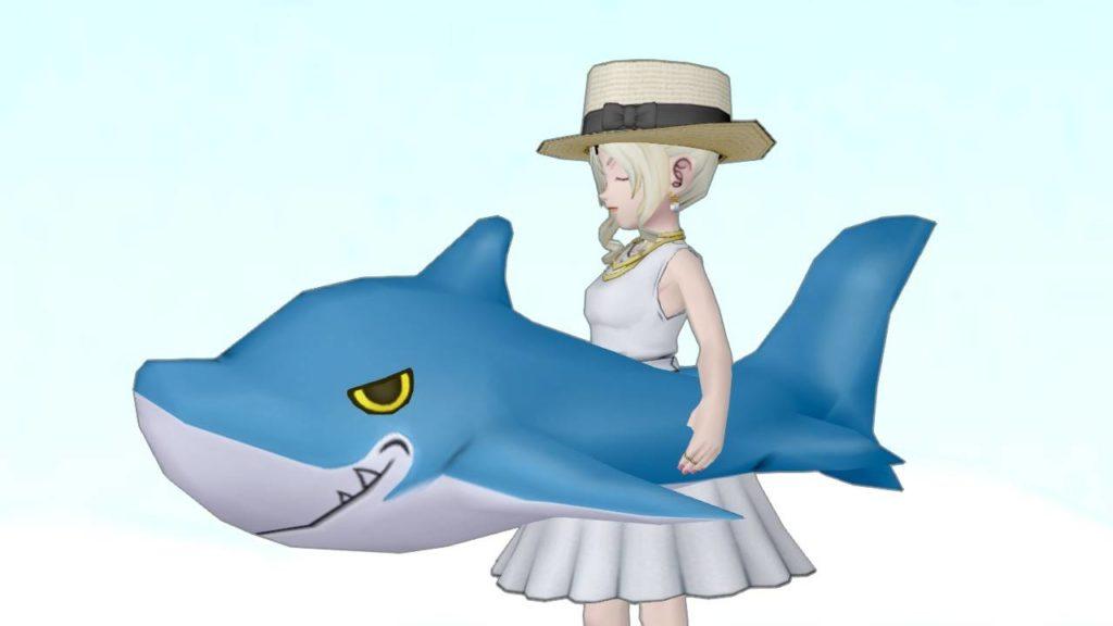 【装備】その他 >かさ「サメの浮き輪」