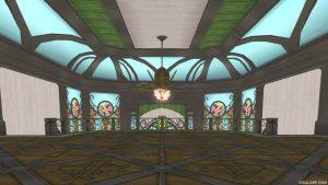 【魅惑の花園の家】2階階段手前から見た2階
