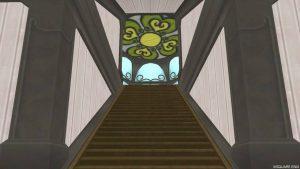 【魅惑の花園の家】2階階段手前から見た3階