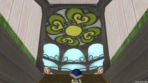 【魅惑の花園の家】2階階段から見た3階
