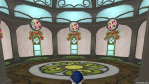 【魅惑の花園の家】3階の窓と床