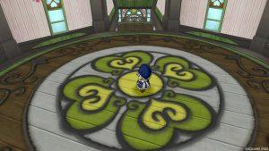 【魅惑の花園の家】3階から見た2階