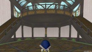 【魅惑の花園の家】テラス扉側から見た室内