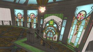 【魅惑の花園の家】2階から見た1階