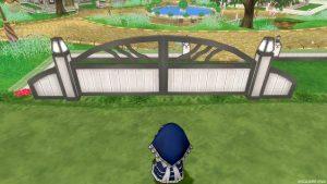 【魅惑の花園の家】常夏の楽園テラスの扉(前)