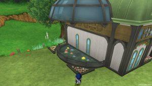 【魅惑の花園の家】テラス 池