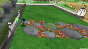 【魅惑の花園の家】アプローチ 枕木のアプローチ