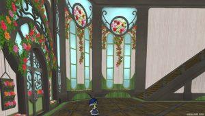 【魅惑の花園の家】1階の窓