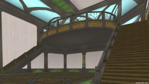 【魅惑の花園の家】1階から見上げたバルコニー