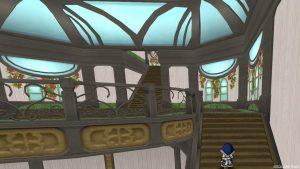 【魅惑の花園の家】2階へのぼる途中