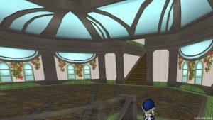 【魅惑の花園の家】2階へのぼった直後