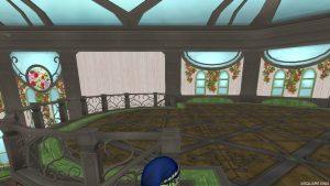 【魅惑の花園の家】1階 2階へのぼった直後(横)