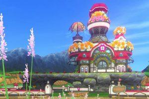 【パラダイスな家】魅惑の花園の家 赤