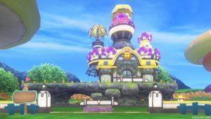 【パラダイスな家】魅惑の花園の家 黄色(昼)