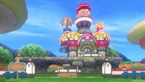 【パラダイスな家】魅惑の花園の家 赤(昼)