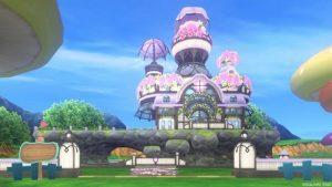 【パラダイスな家】魅惑の花園の家 むらさき(昼)