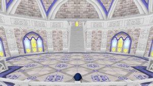 【虹の宮殿の家】2階 バルコニーから見た2階