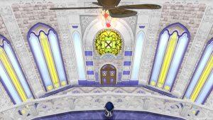 【虹の宮殿の家】2階から見た1階