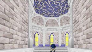 【虹の宮殿の家】3階天井