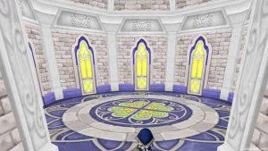 【虹の宮殿の家】3階の窓と床