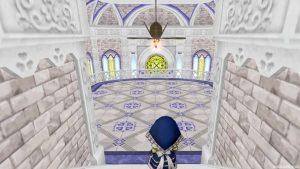 【虹の宮殿の家】3階 2階へおりる途中の室内
