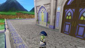 【虹の宮殿の家】テラス テラスに出た直後(左斜め)