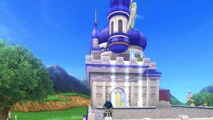 【虹の宮殿の家】テラス 背面角から横向きにとった外観