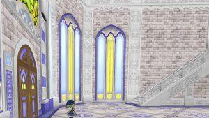 【虹の宮殿の家】1階の窓