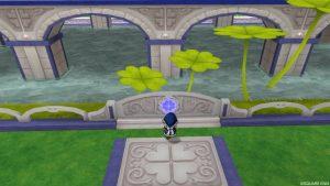 【虹の宮殿の家】庭 虹の宮殿の家スイッチ
