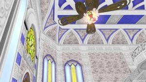 【虹の宮殿の家】1階の天井