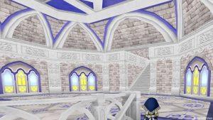 【虹の宮殿の家】1階 2階へのぼった直後