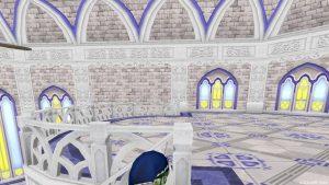【虹の宮殿の家】1階 2階へのぼった直後(真横)