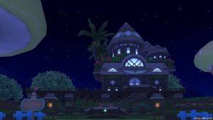 【パラダイスな家】常夏の楽園の家 緑(夜)