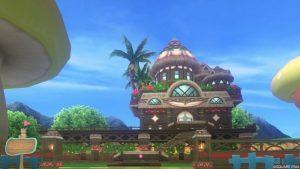 【パラダイスな家】常夏の楽園の家 赤(昼)