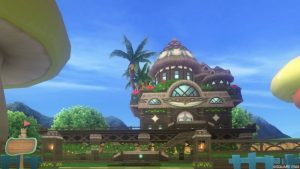 【パラダイスな家】常夏の楽園の家 緑(昼)