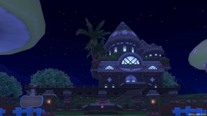 【パラダイスな家】常夏の楽園の家 赤(夜)