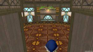 【常夏の楽園の家】2階へおりる途中の室内