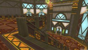 【常夏の楽園の家】2階から見た1階