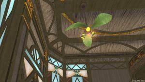 【常夏の楽園の家】1階の天井