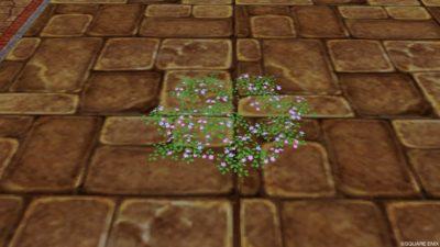 おうち用花畑のラグ・2