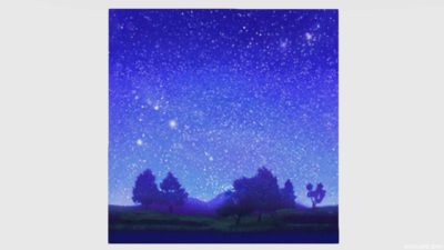星空かきわり・1