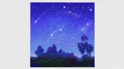 星空かきわり・2