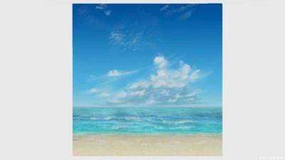 浜辺かきわり・4