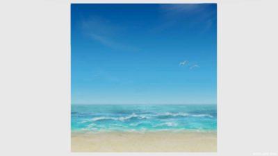 浜辺かきわり・5