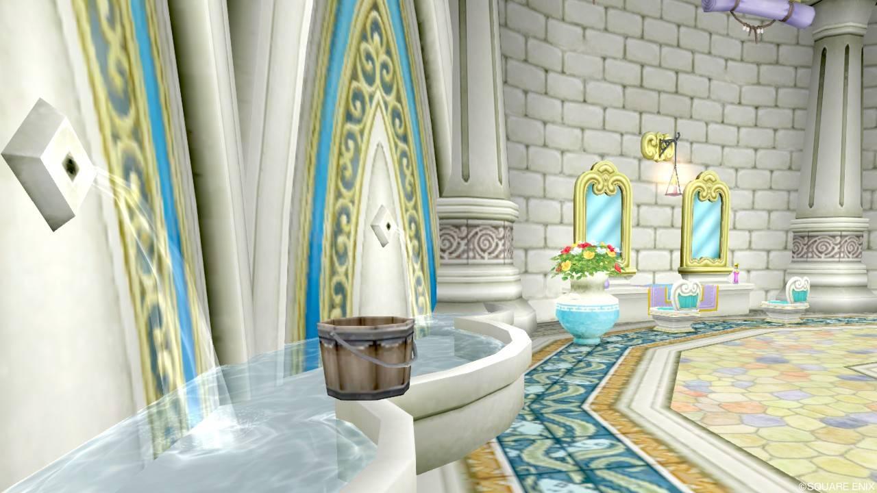 ヴェリナード 美容院 壁泉
