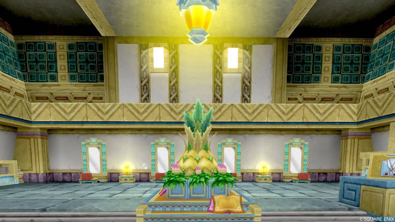 ドルワーム王国 美容院 玄関